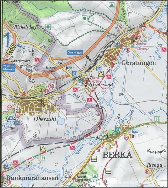Bild 7: Kartenausschnitt 2010