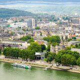 Am Rhein, Koblenz, Deutsches Eck