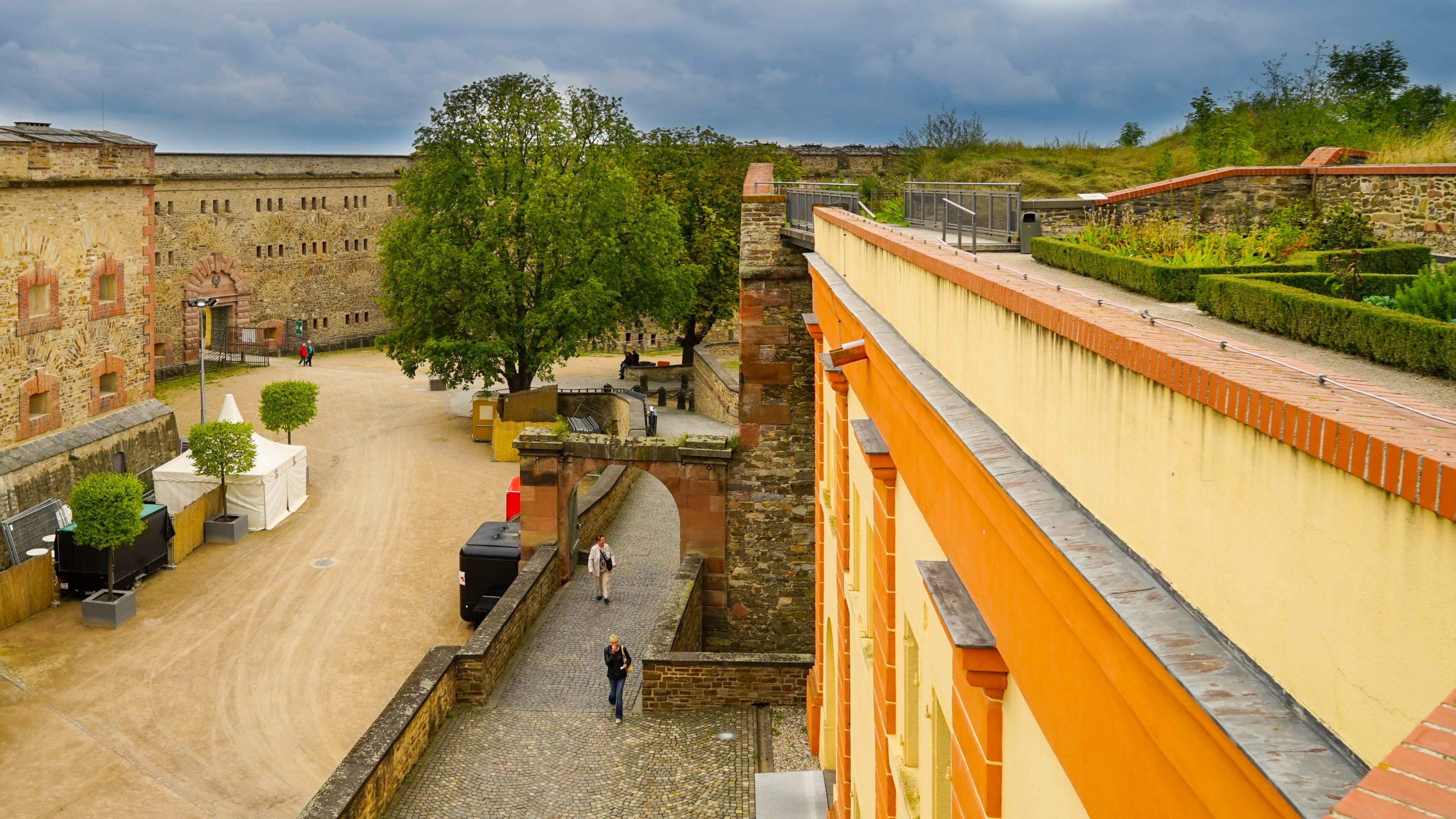 Am Rhein, Koblenz, Festung Ehrenbreitstein