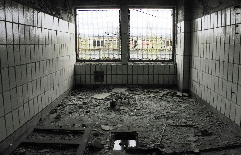 Zeitzeugen der Teilung, ehemaliger Grenzbahnhof