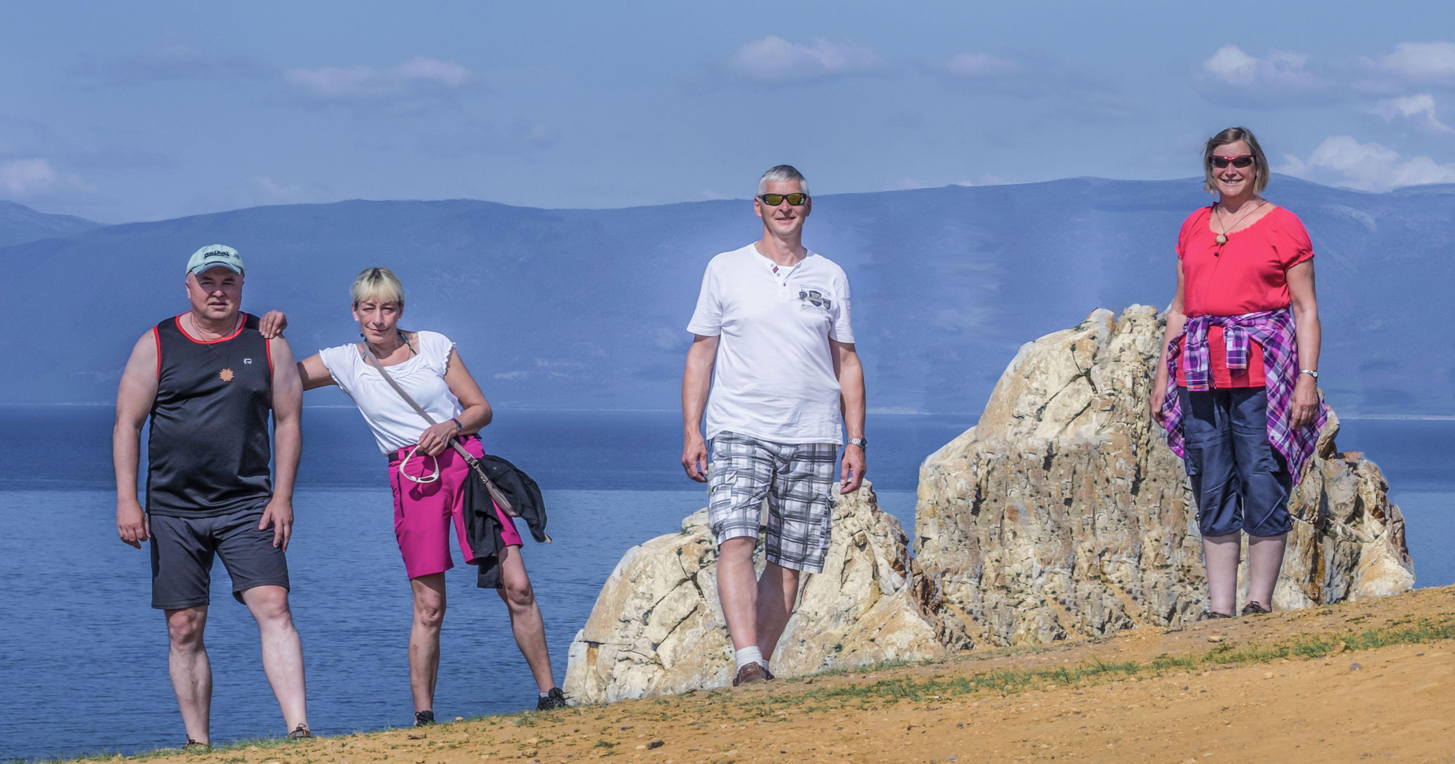Baikal, Am Schamanenfelsen