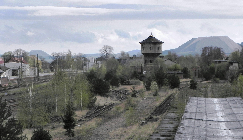 Zeitzeugen der Teilung, ehemaliger Grenzbahnhof Gerstungen im Jahr 2012