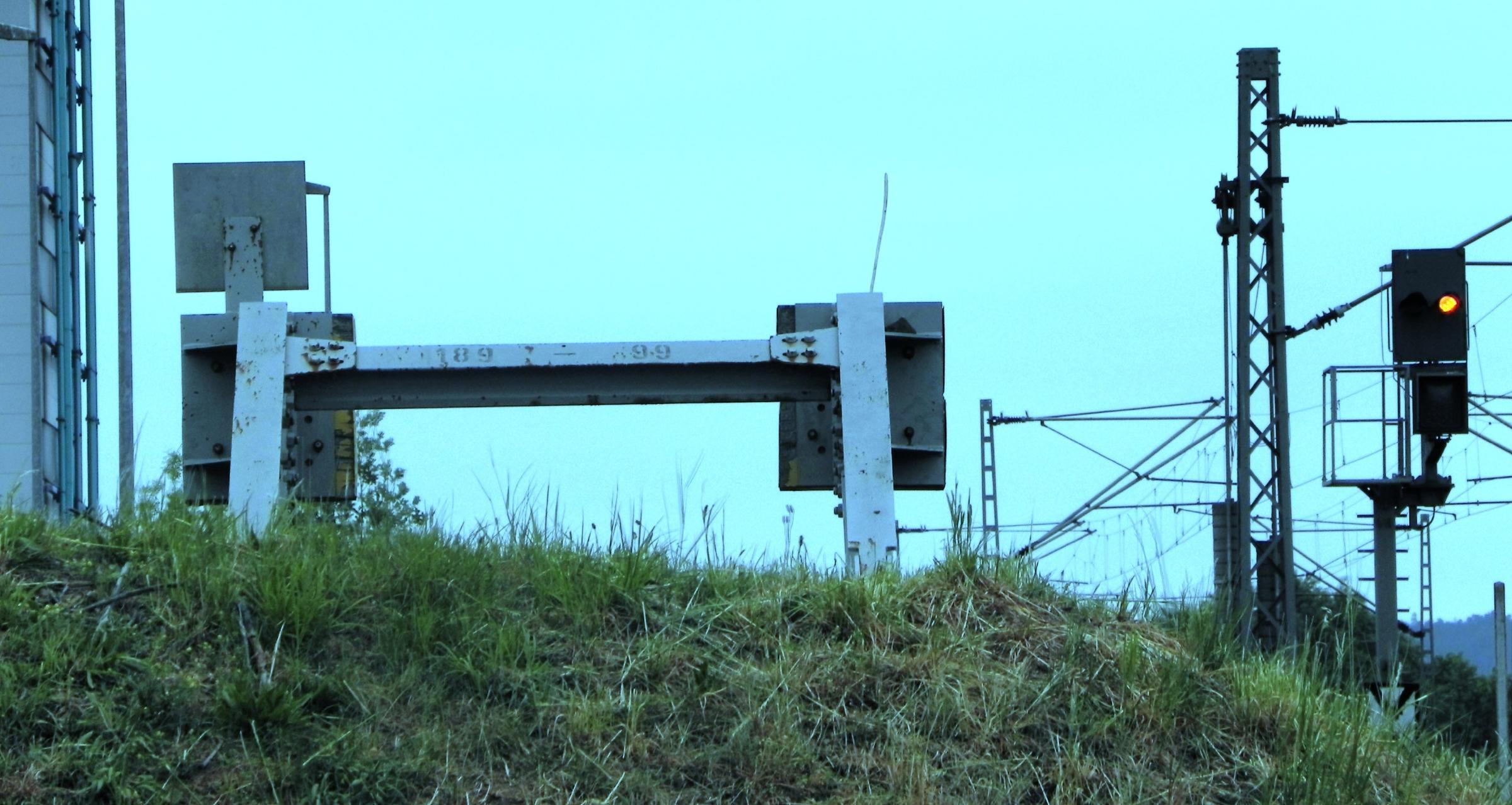 Zeitzeugen der Teilung, an der alten Grenzlinie zwischen Obersuhl und Untersuhl