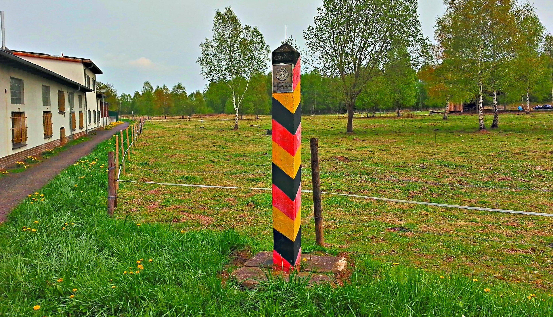 Werra-Region bei Gerstungen, Zeitzeugen der Teilung, Ortsrand Obersuhl