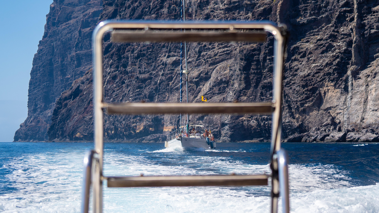 Atlantik, Teneriffa, Felsenküste bei Los Gigantes