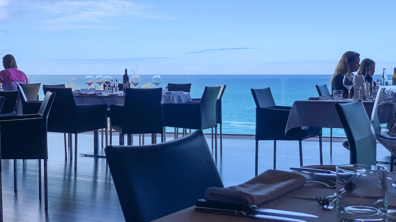 Atlantik, Teneriffa, La Orotava, Loro Parque Restaurant