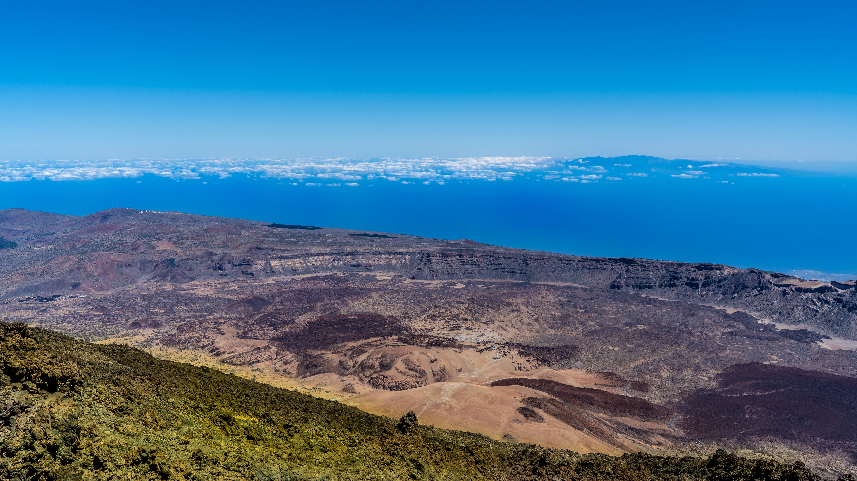 Atlantik, Teneriffa, auf dem Pico del Teide in über 3500 Meter Höhe