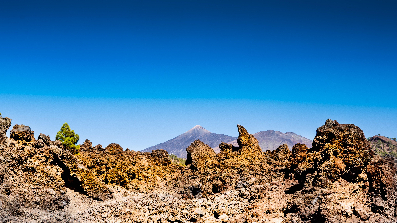 Atlantik, Teneriffa, unterwegs zum Pico del Teide