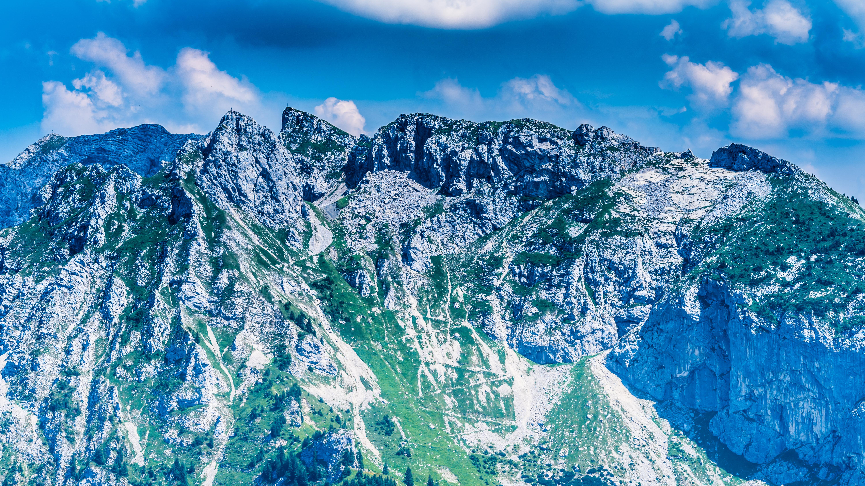 Allgäu, bei Füssen, Aussicht am Tegelberg