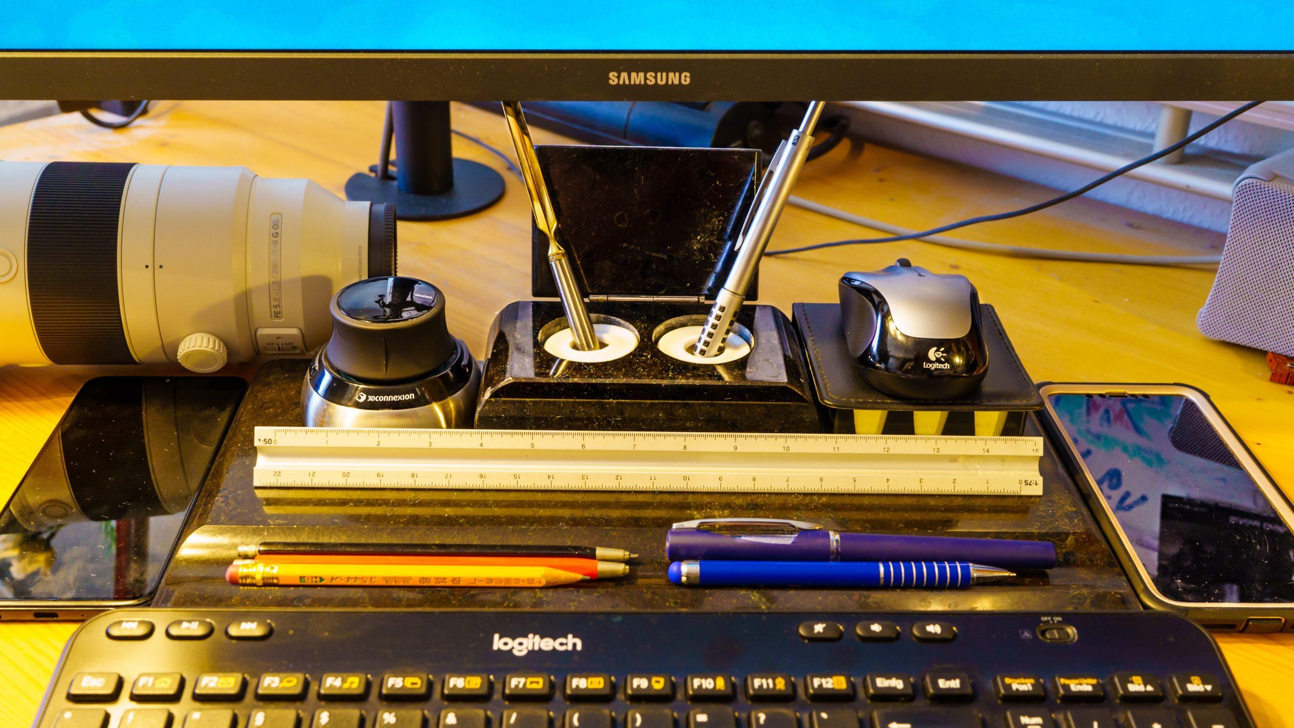 Schreibtisch-Stillleben