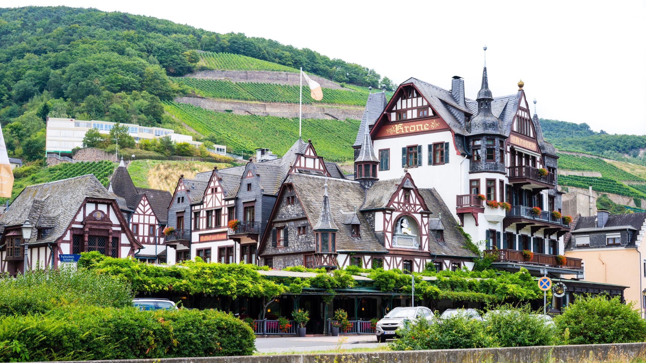 Am Rhein zwischen Bingen und Koblenz