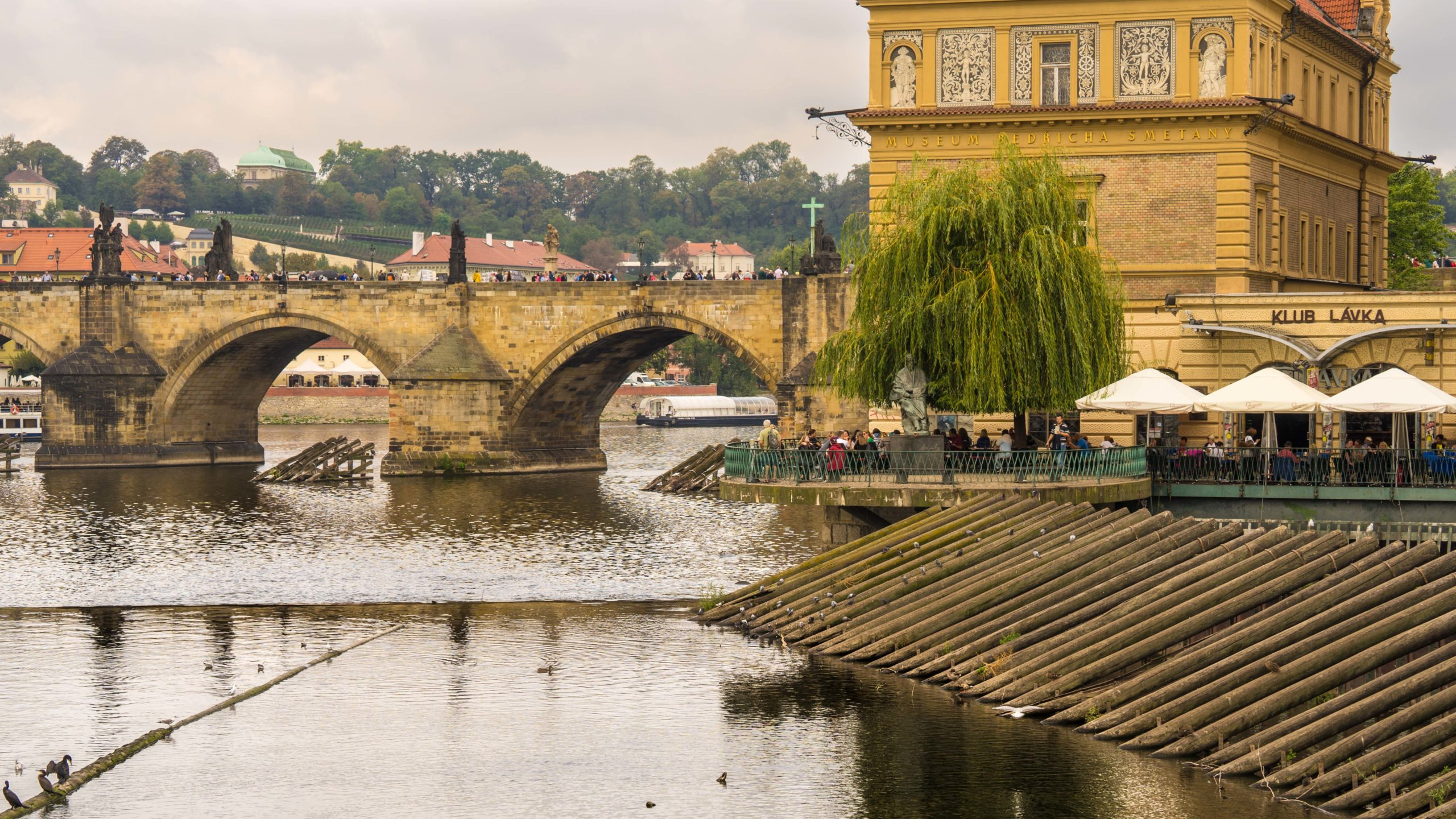 Prag, an der Moldau