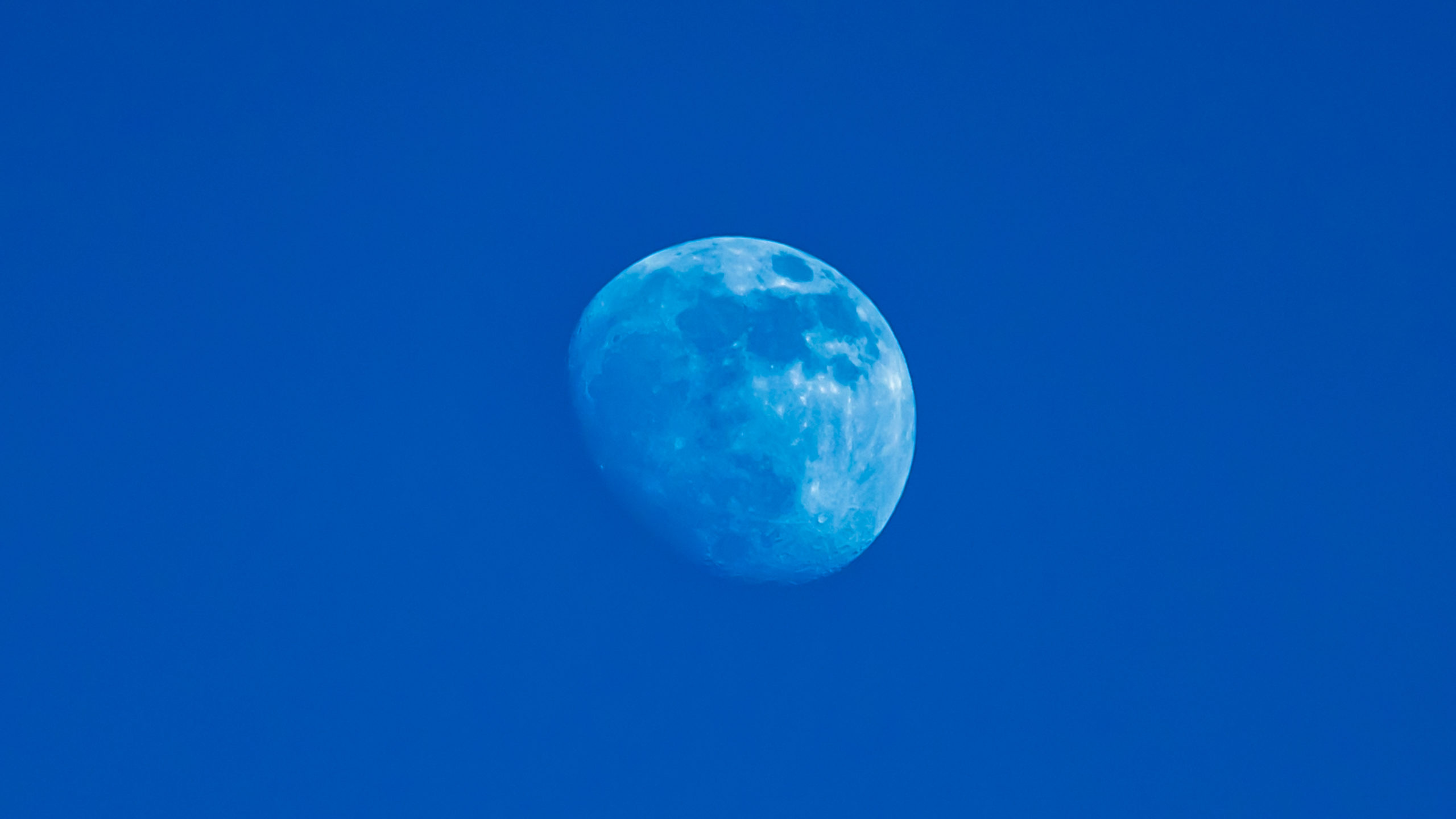 Mond über Bodesruh bei Wildeck