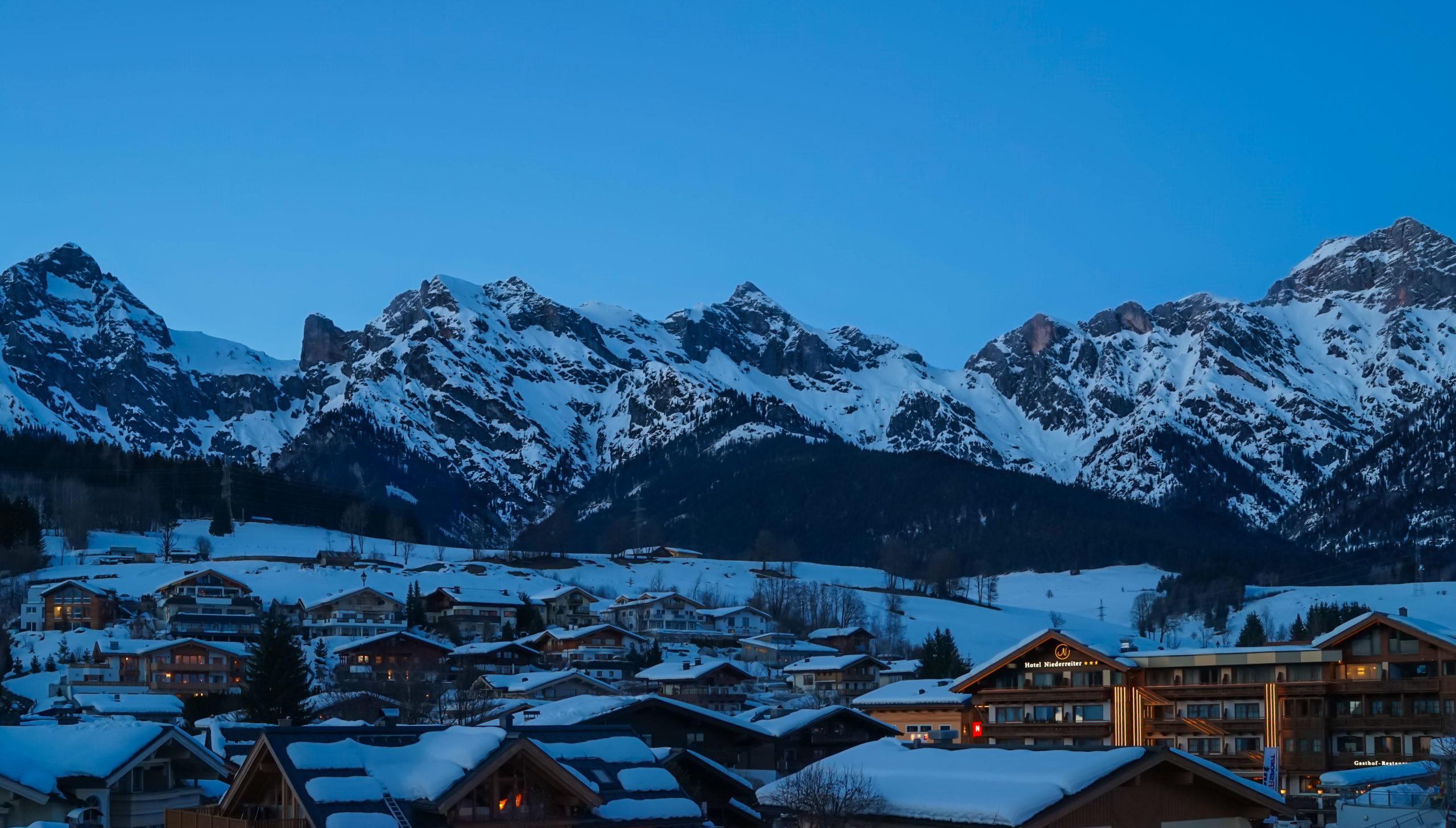 Alpen, Maria Alm, Feierabend