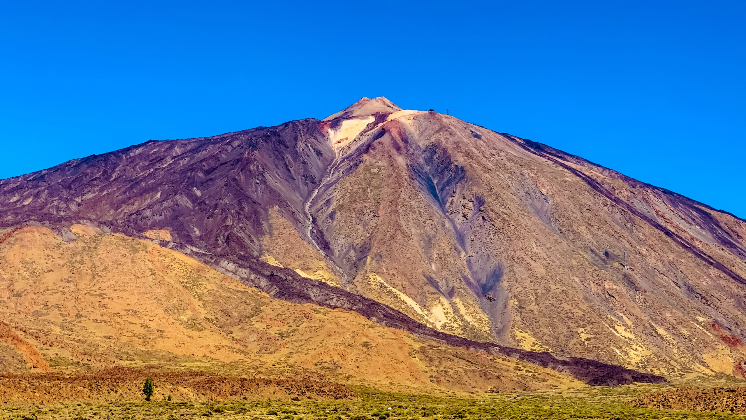 Atlantik, Teneriffa, am Fuß des Pico del Teide