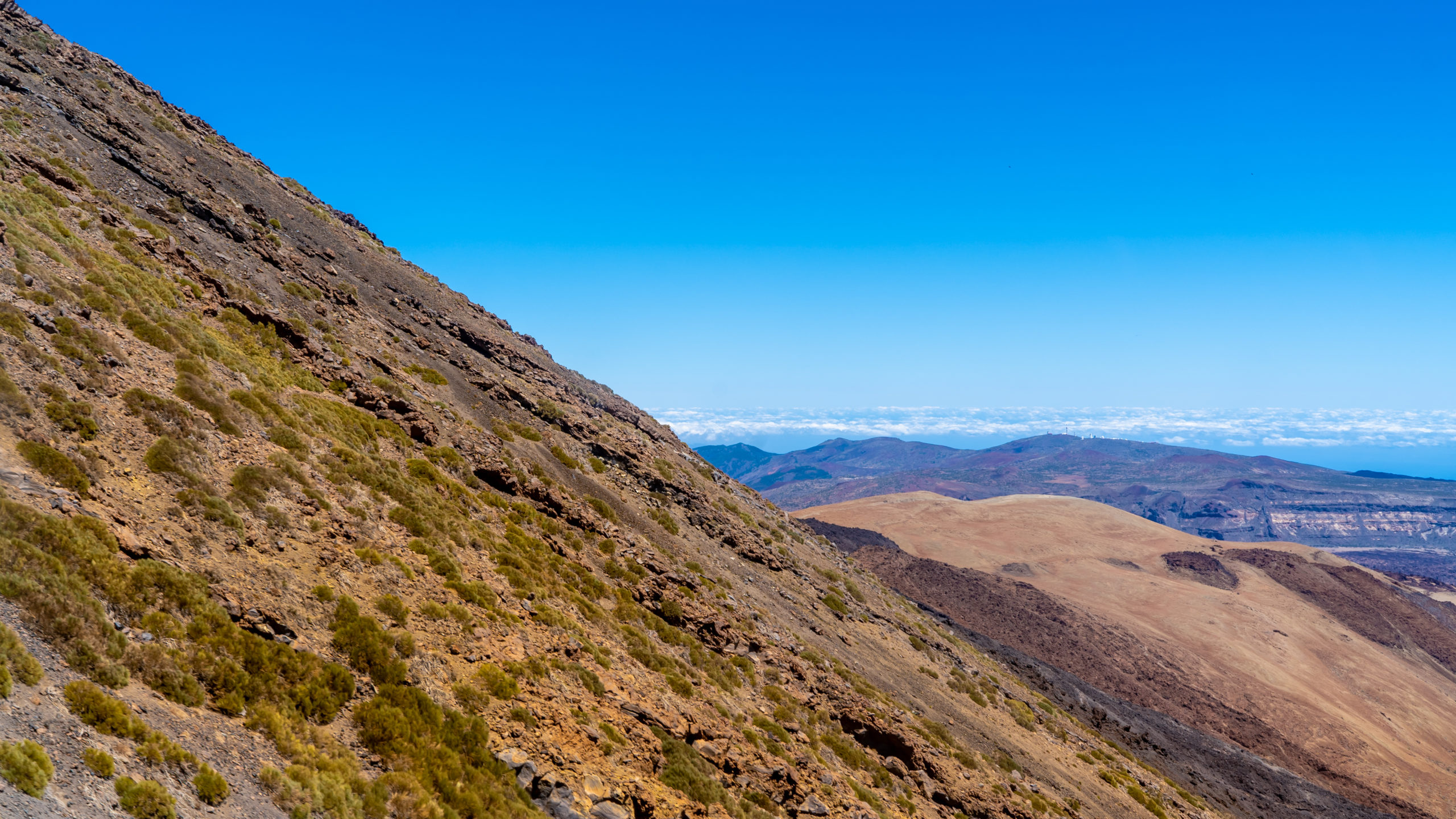 Atlantik, Teneriffa, Pico del Teide in 3500 Meter Höhe