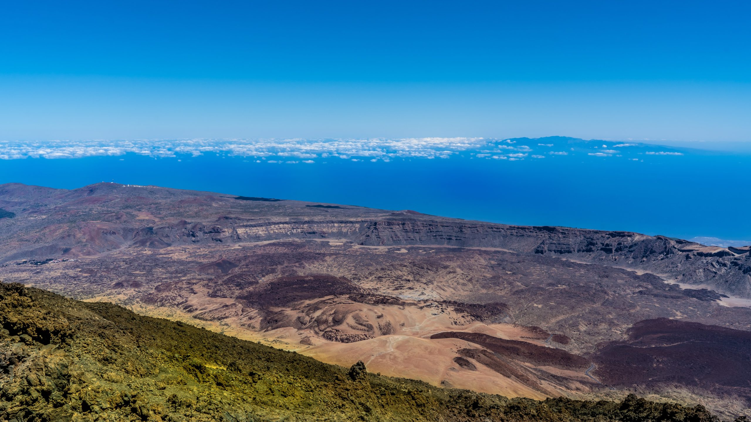 Atlantik, Teneriffa, auf dem Pico del Teide in 3500 Meter Höhe