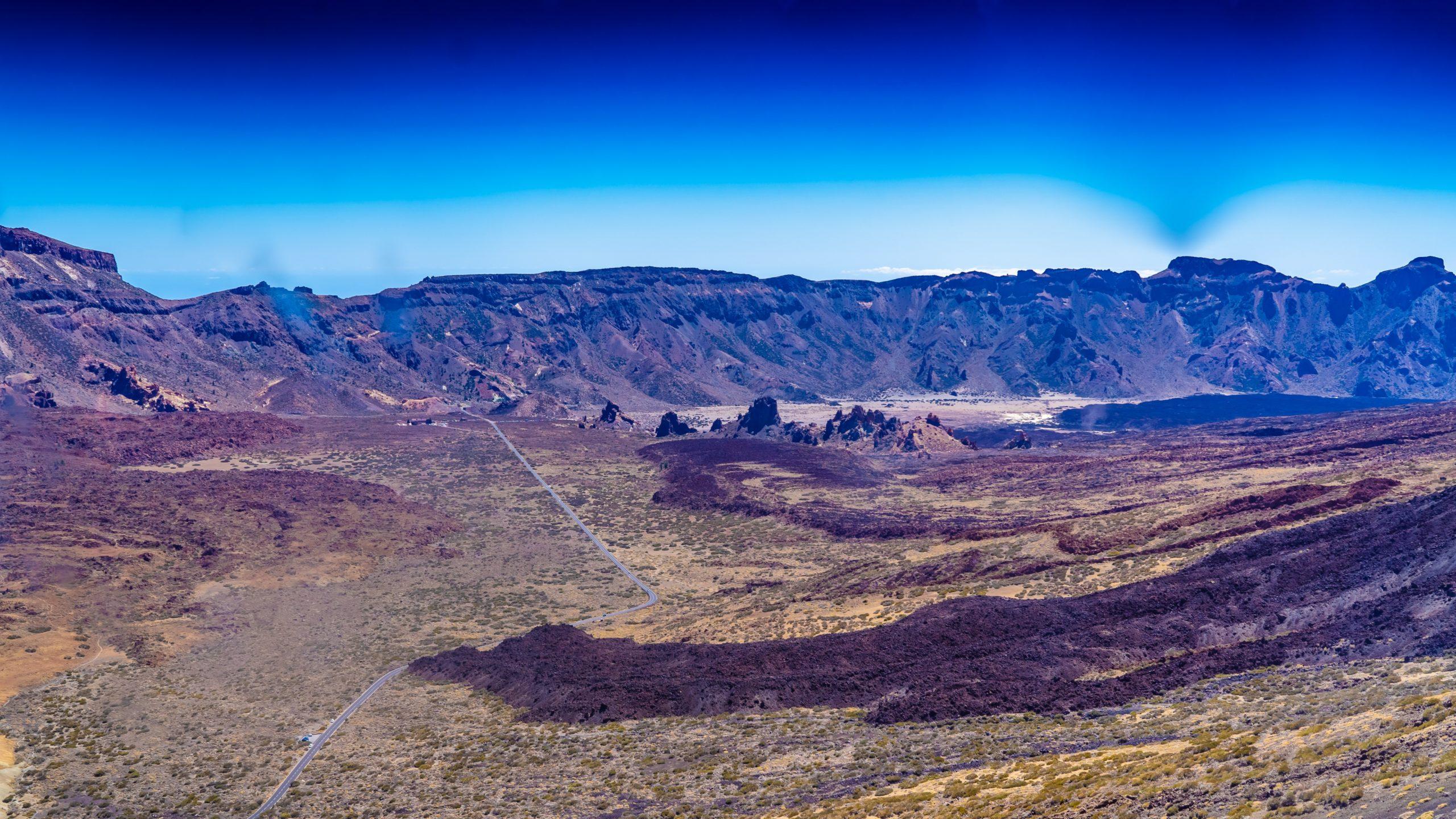 Atlantik, Teneriffa, in 2500 Meter Höhe, unterwegs zum Pico del Teide