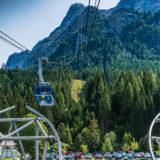 Alpen, Tirol, Zugspitze Seilbahn Talstation