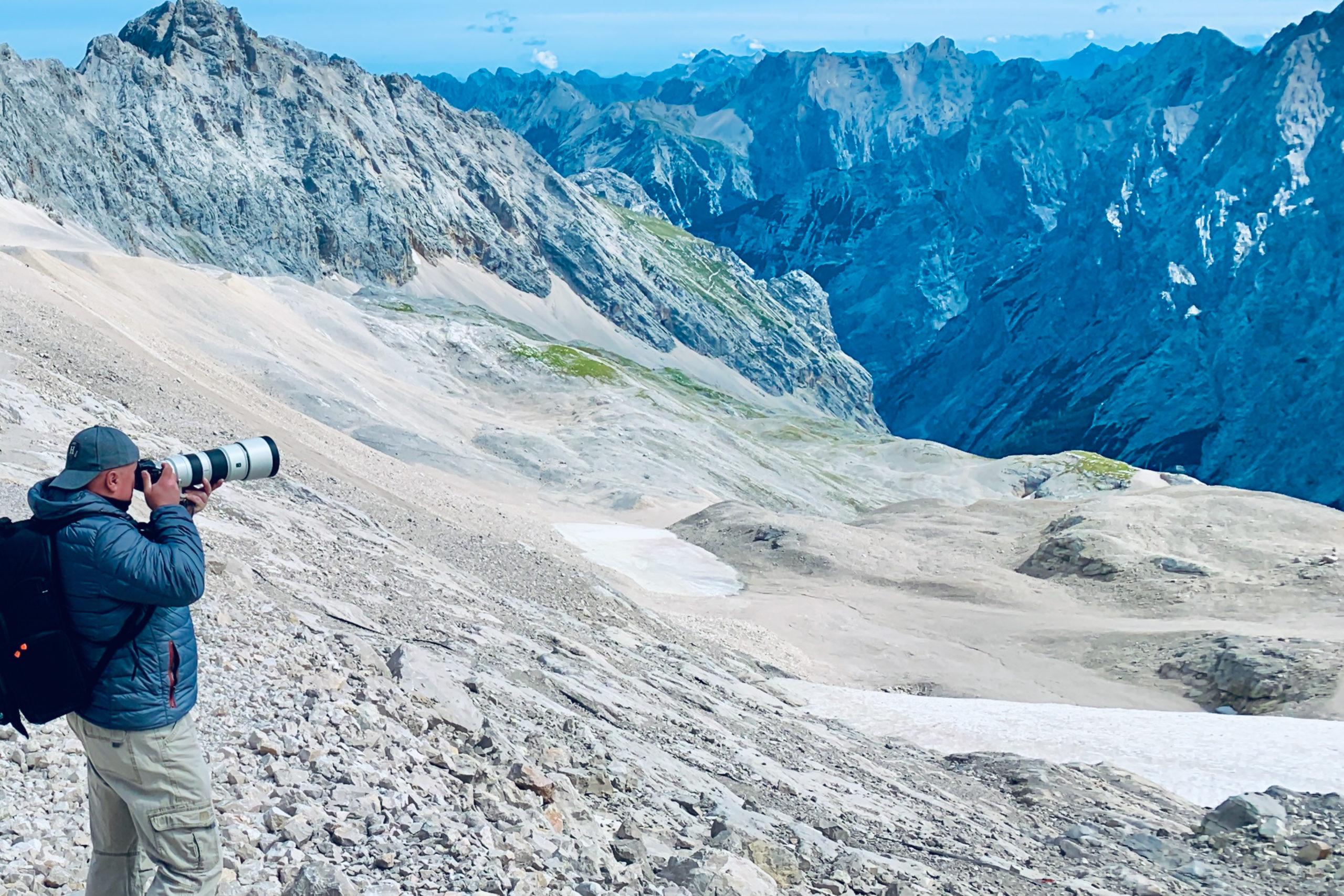 Alpen, Tirol - Zugspitze - Wolle Ing