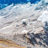 Alpen, Tirol, Auf der Zugspitze