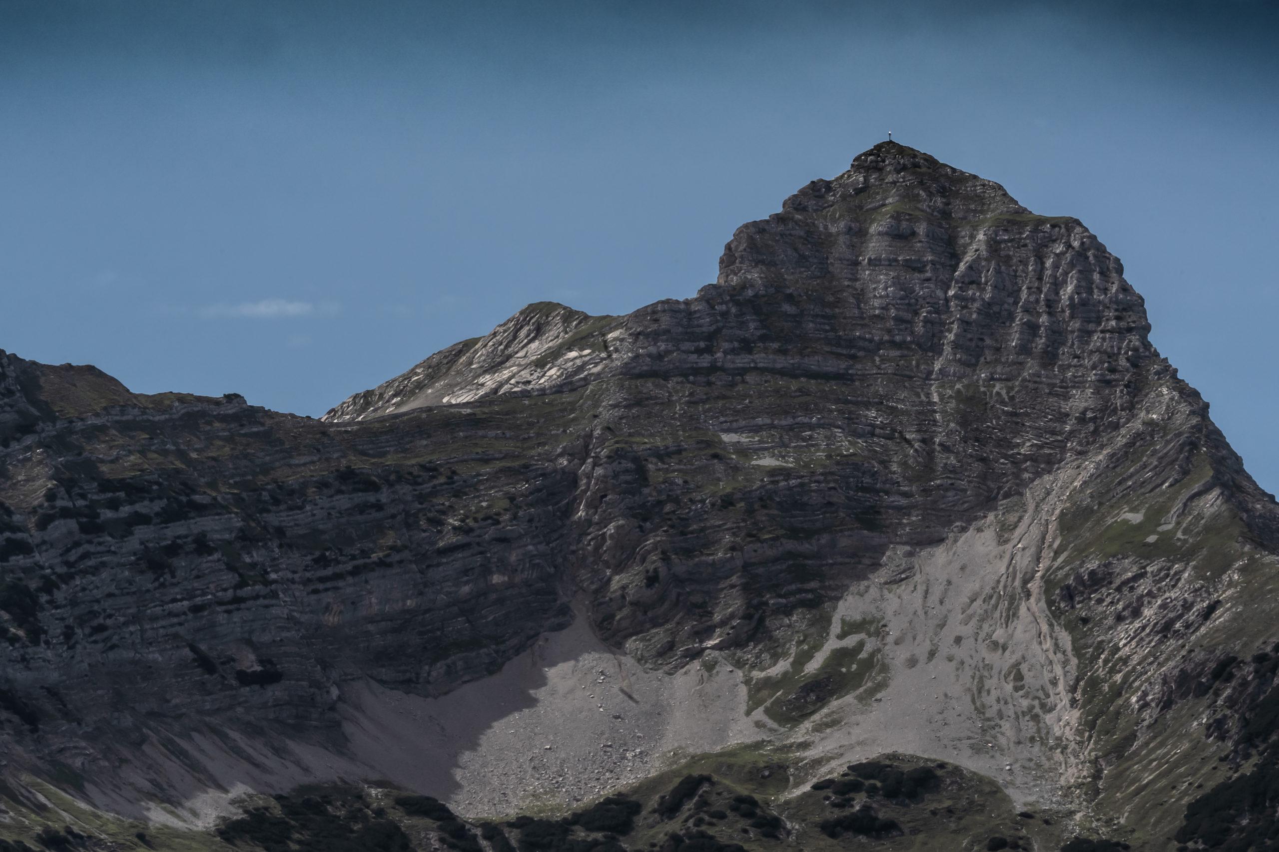Gegenüber der Zugspitze