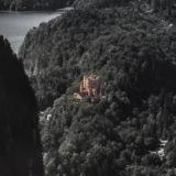 Blick auf Schloss bei Füssen