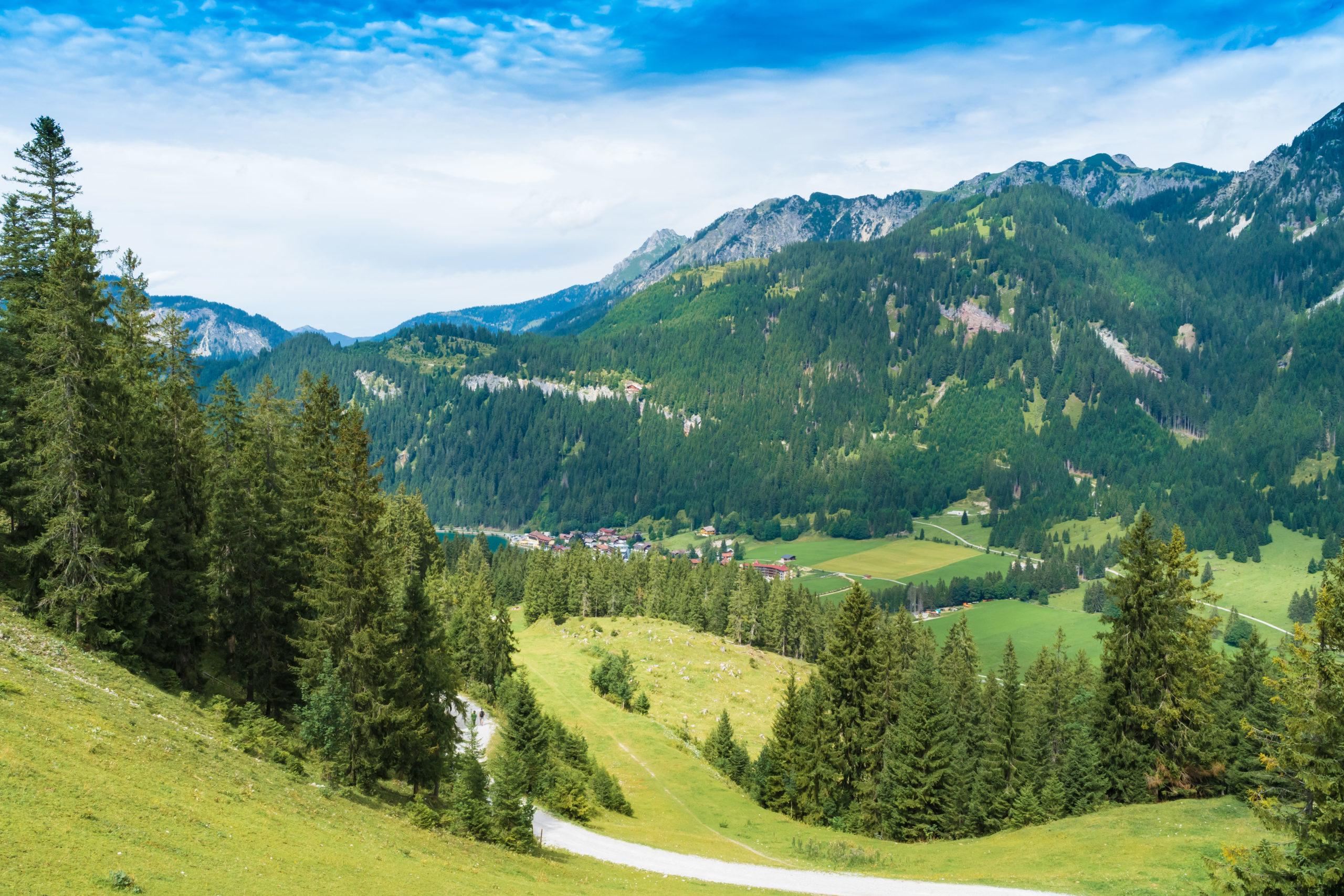 Tirol, Tannheimer Tal, Haller