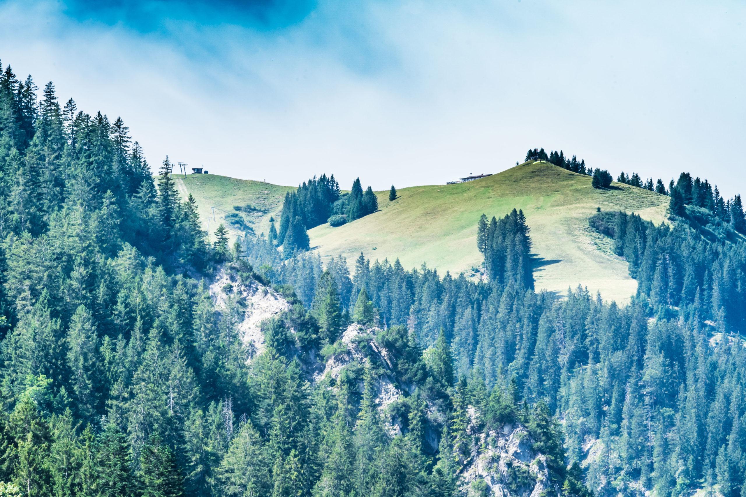 Tirol, Tannheimer Tal, über dem Haldensee