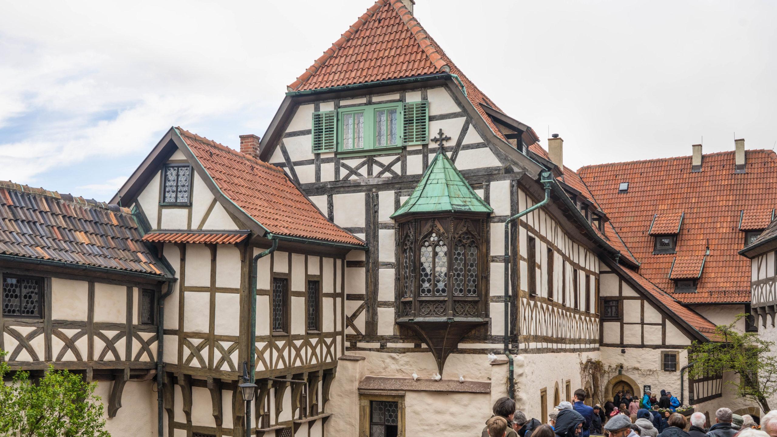 Eisenach, Wartburg, im Lutherjahr 2017