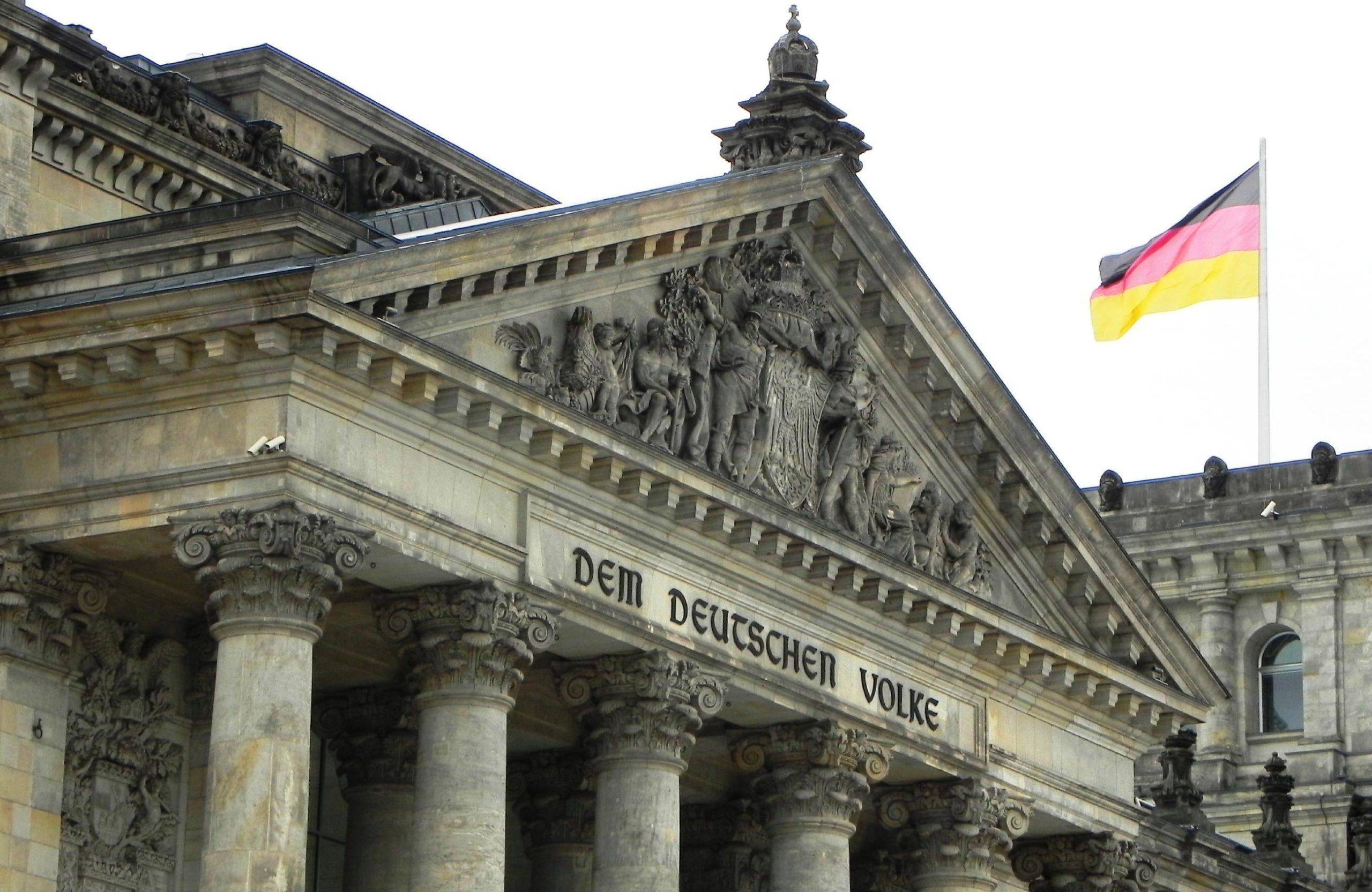 Reichstag zur Bundestagswahl 2013