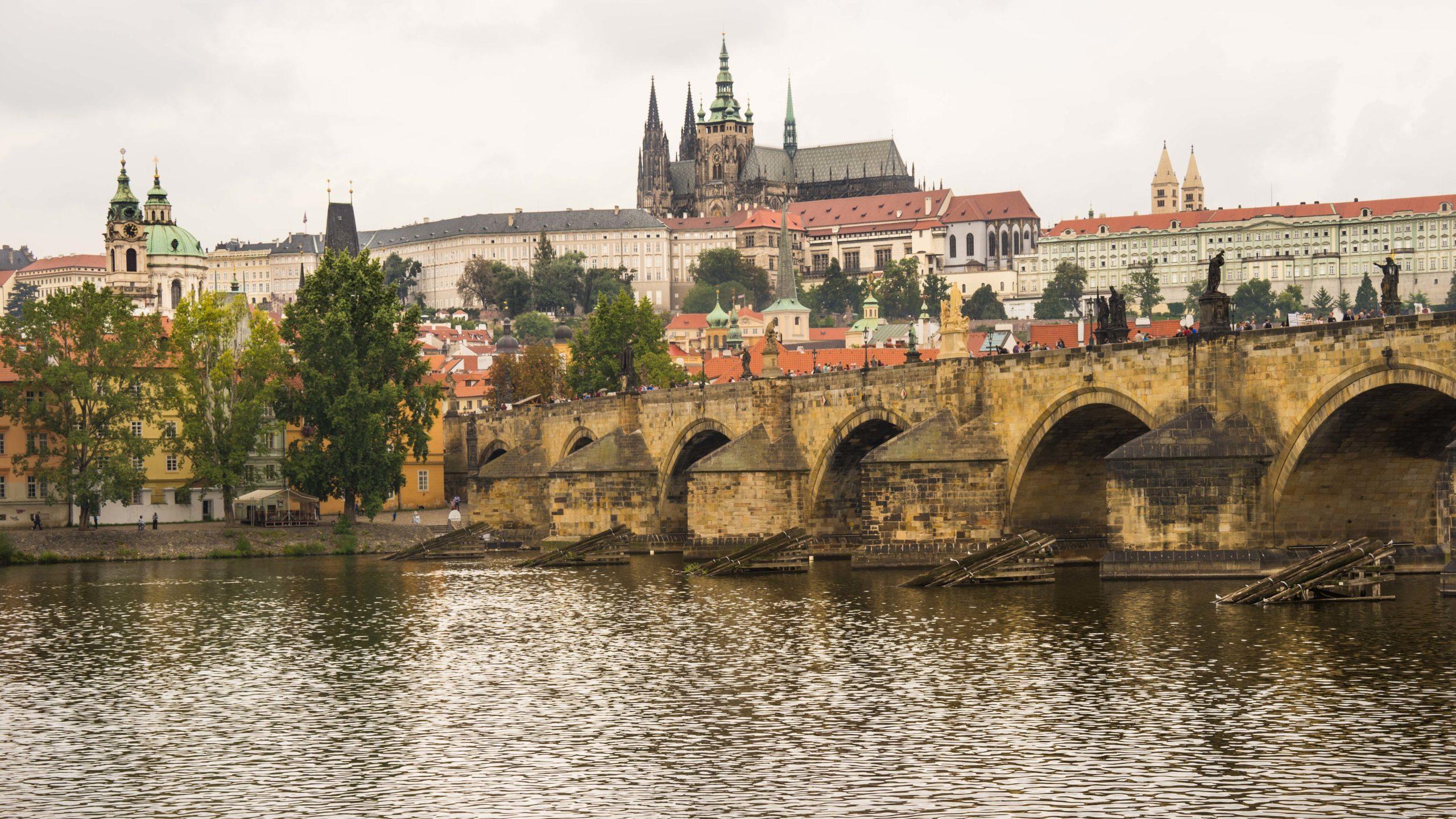 Prag, Prager Burg, an der Moldau