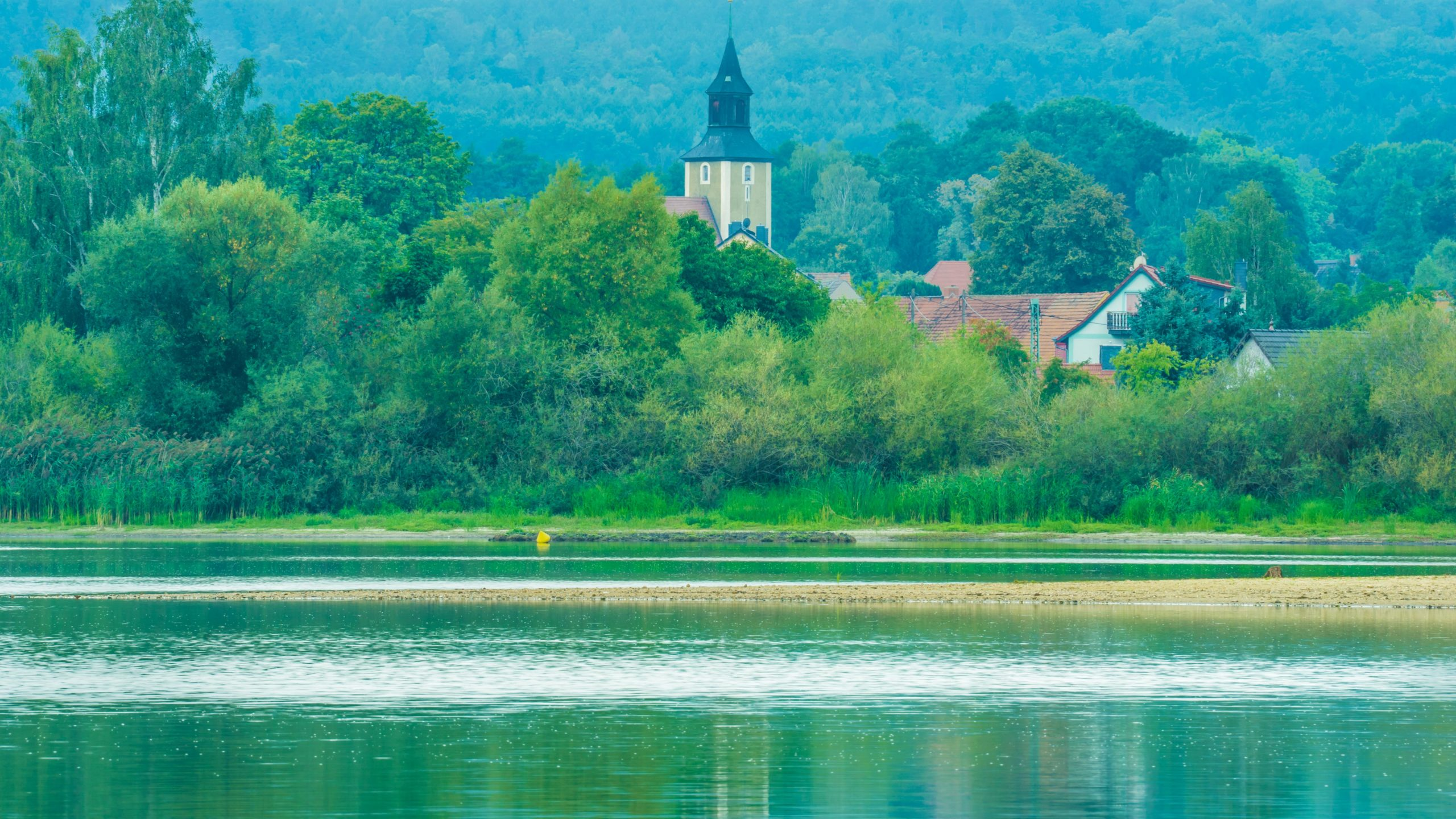 Stausee Quitzdorf, Kollm, bei Niesky, Oberlausitz