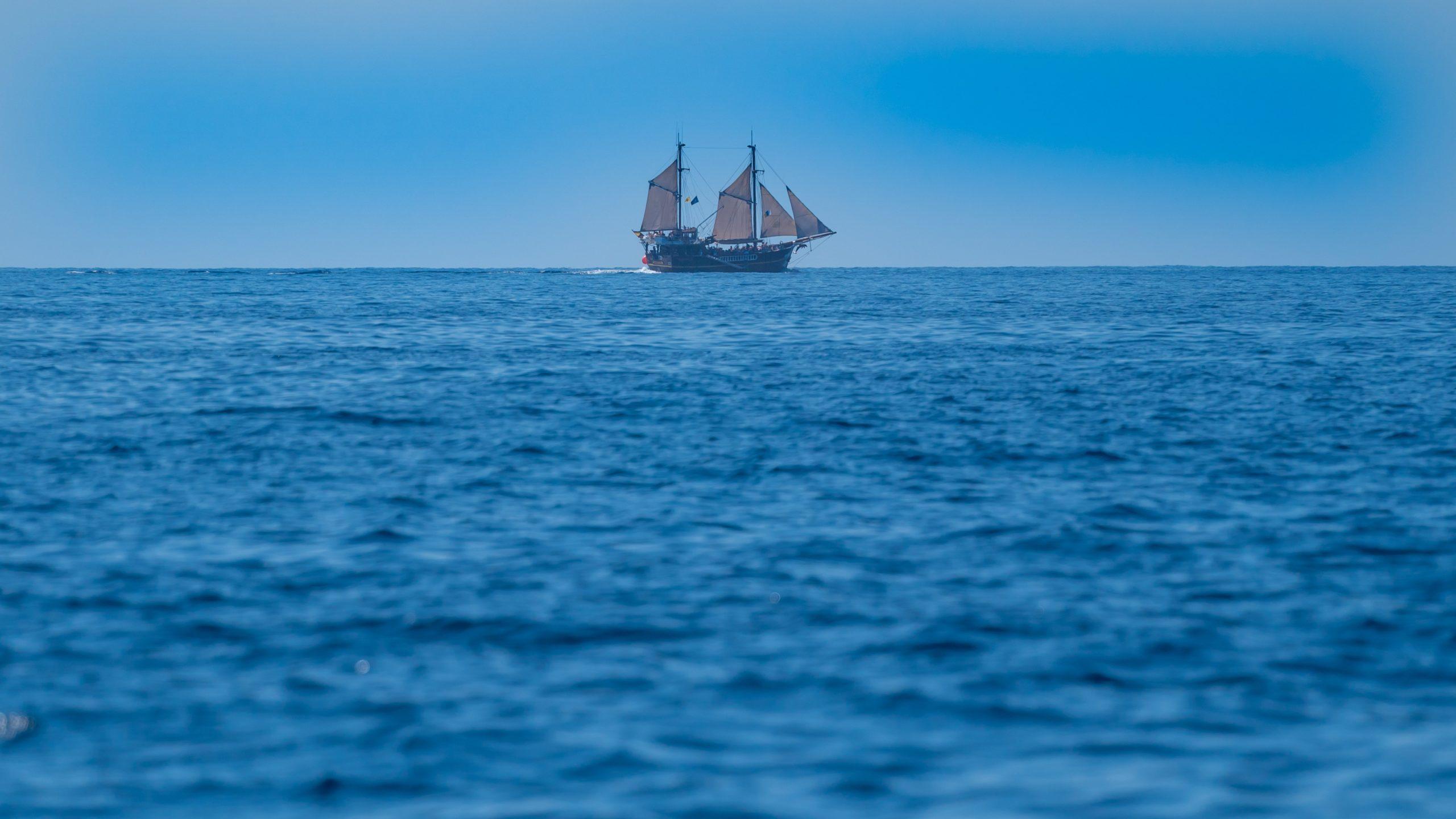 Atlantik, Teneriffa, vor Los Gigantes