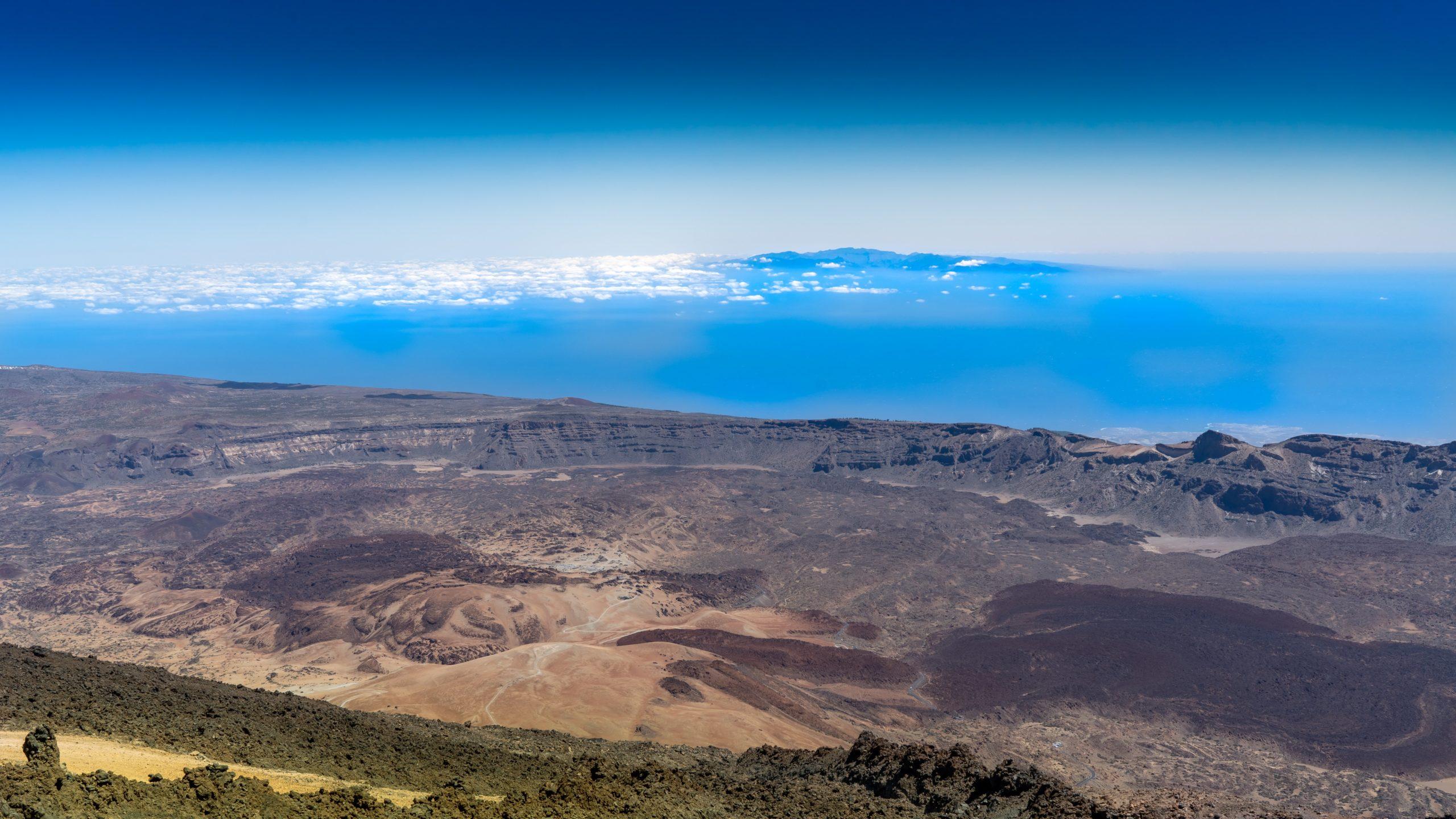 Atlantik, Teneriffa, auf dem Pico del Teide