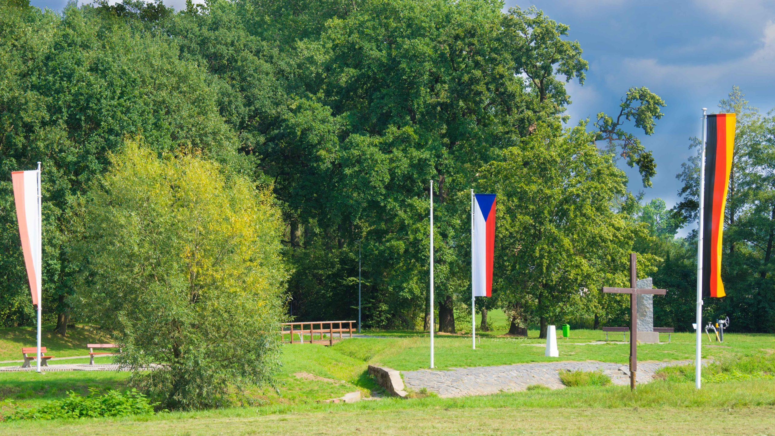 Am Dreiländereck Tschechei-Polen-D