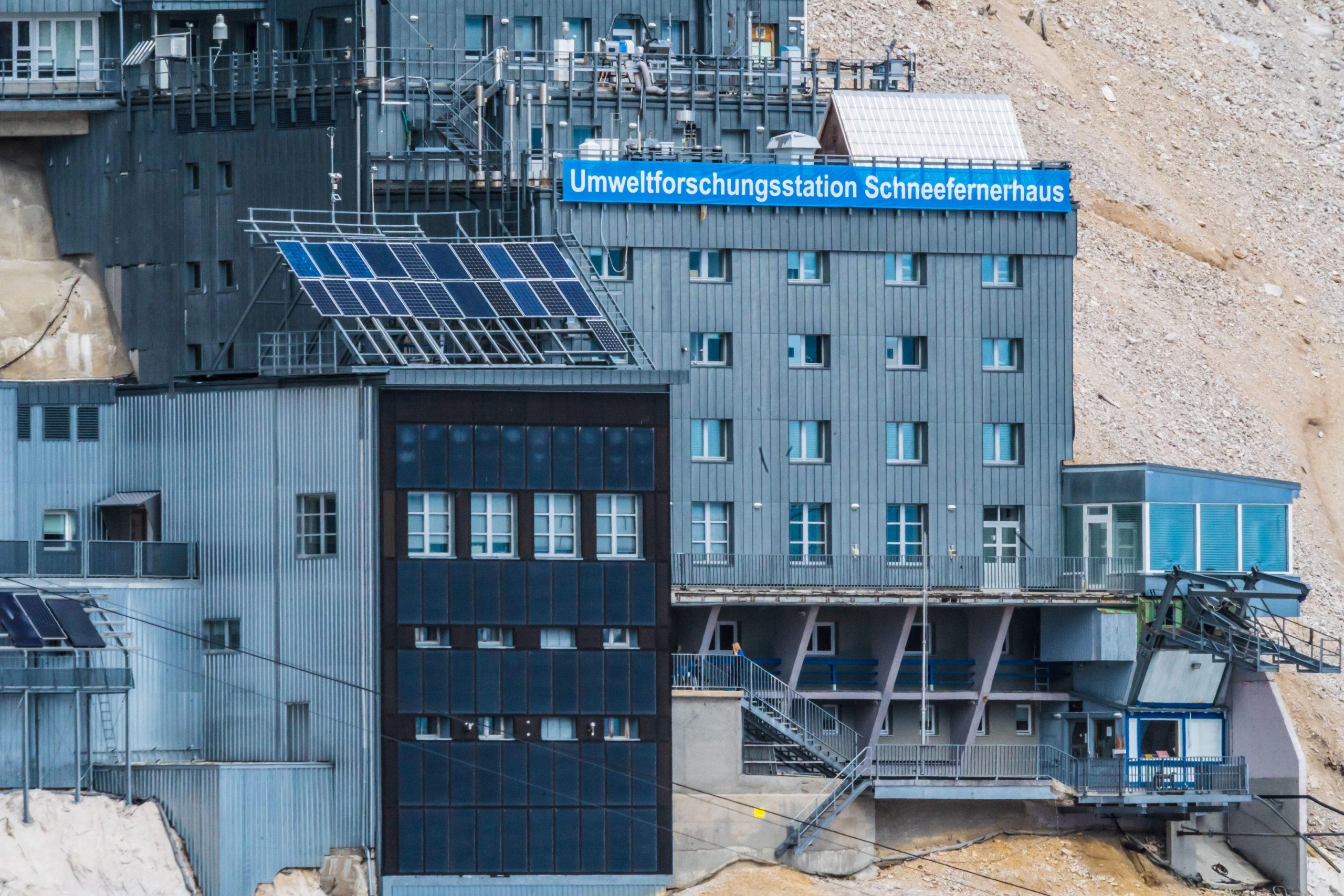 Umweltforschungsstation an der Zugspitze