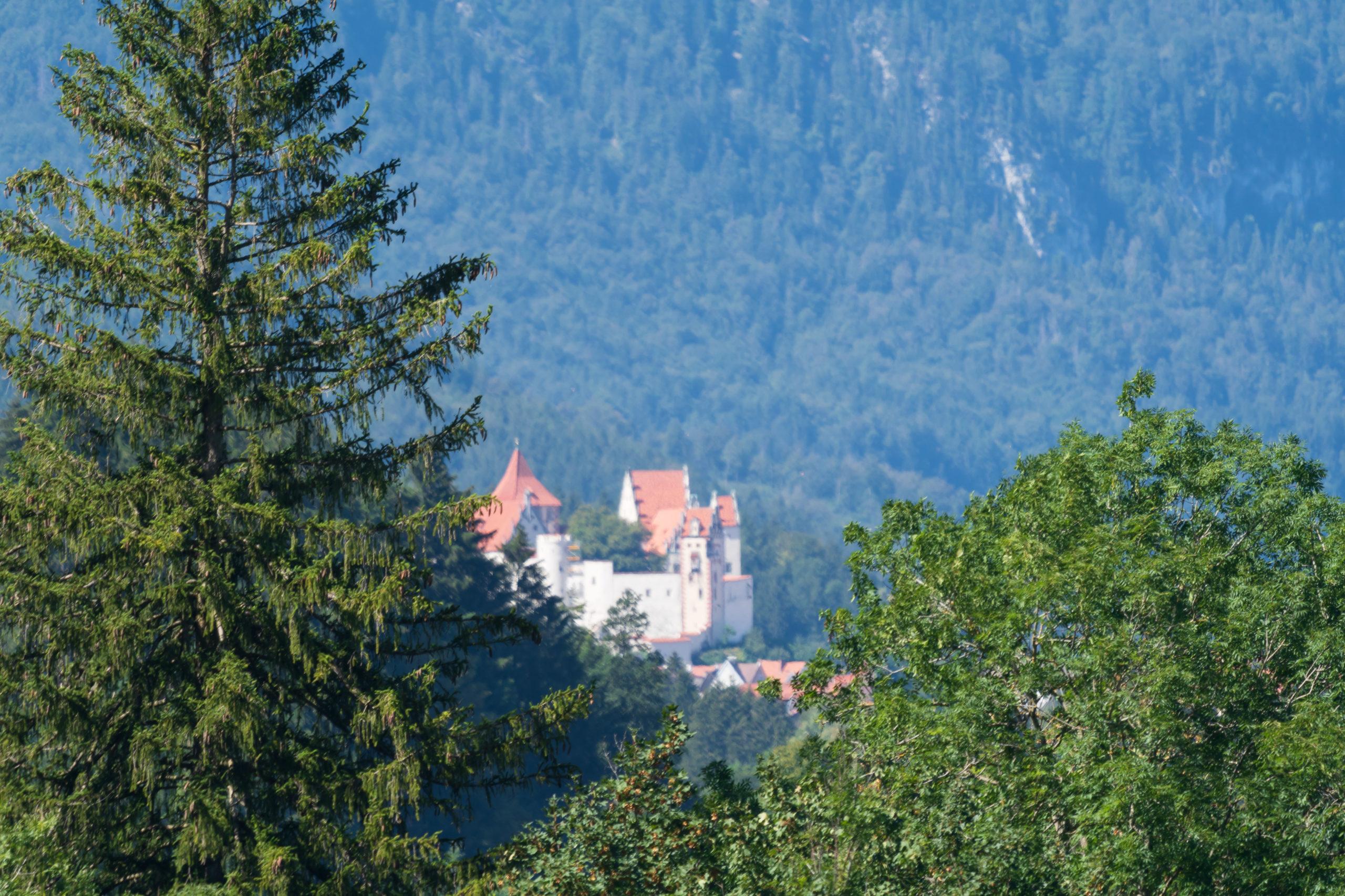 Allgaü, Schloss bei Füssen