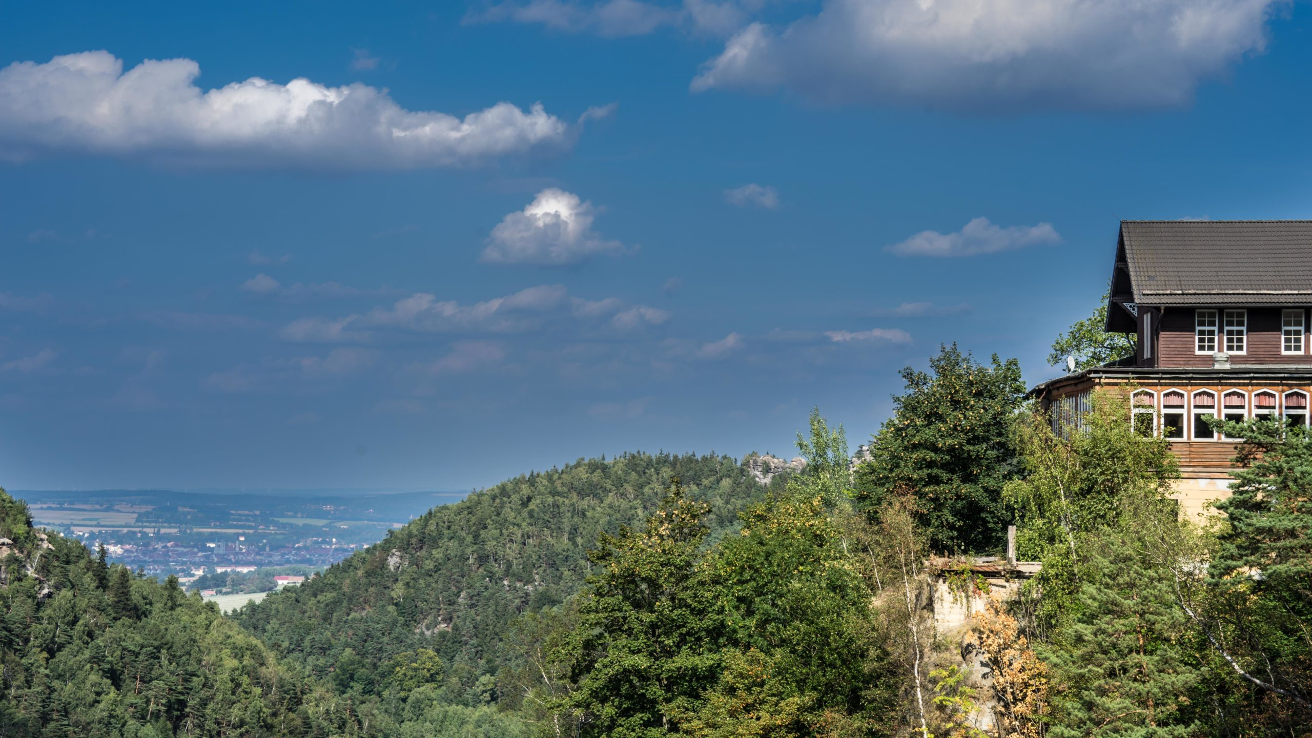 auf der Burg Oybin