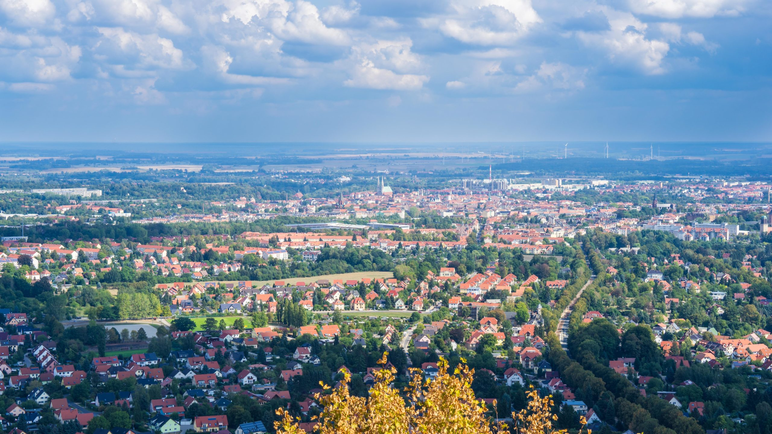 Görlitz, Blick von der Landeskrone