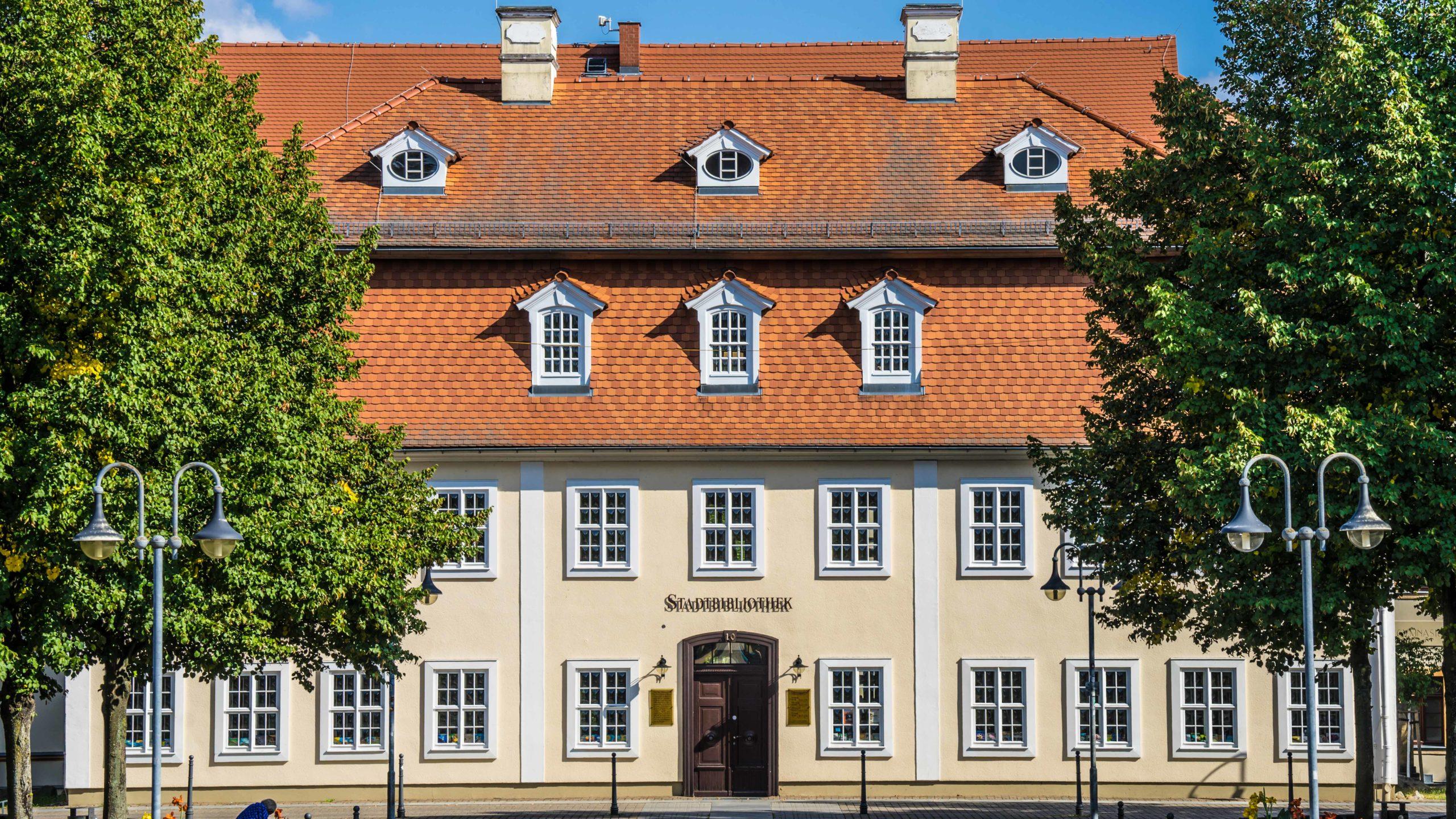 Oberlausitz, Niesky (sorbisch: Nizka), Stadtbibliothek