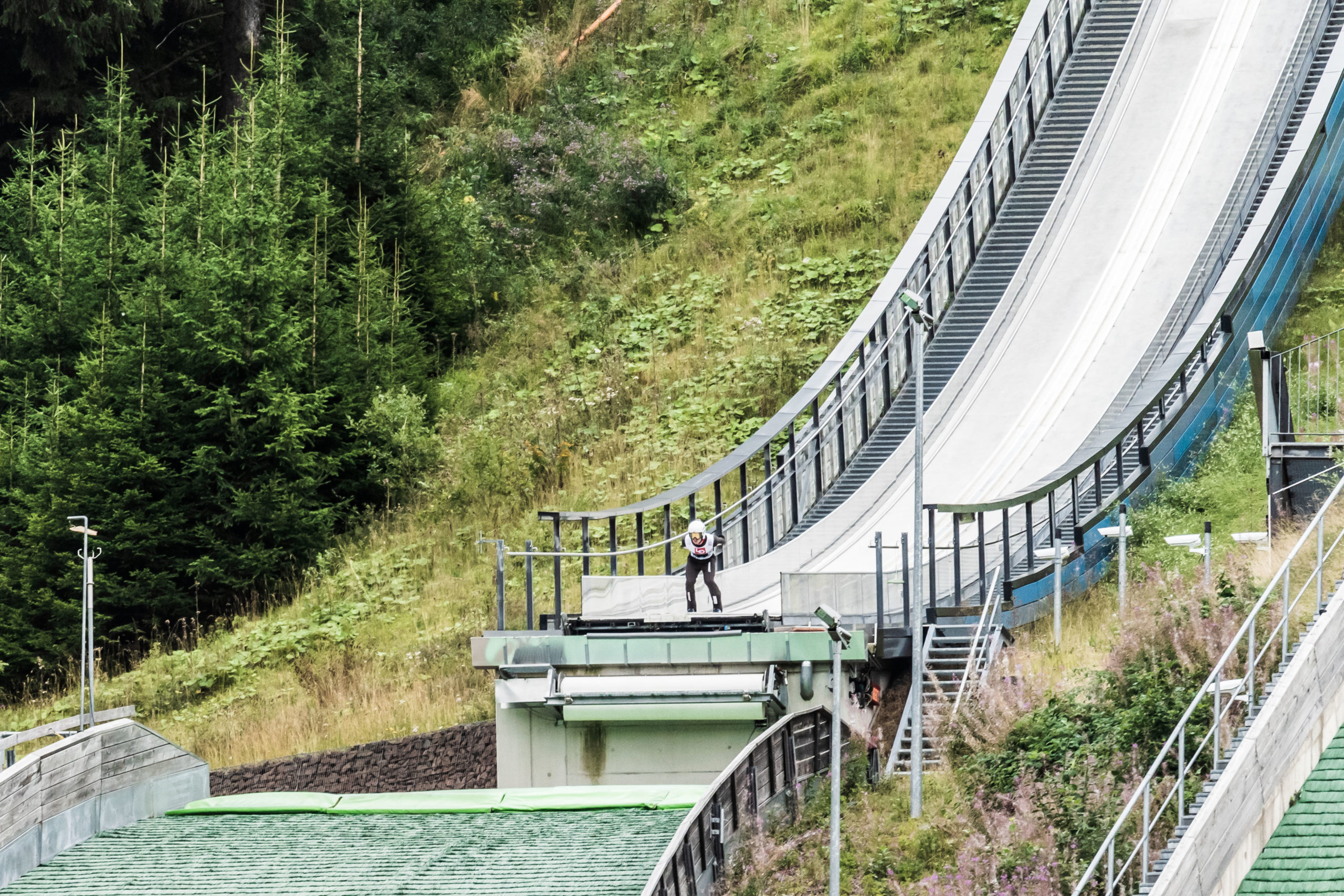 Schanzenanlage Kanzlersgrund bei Oberhof