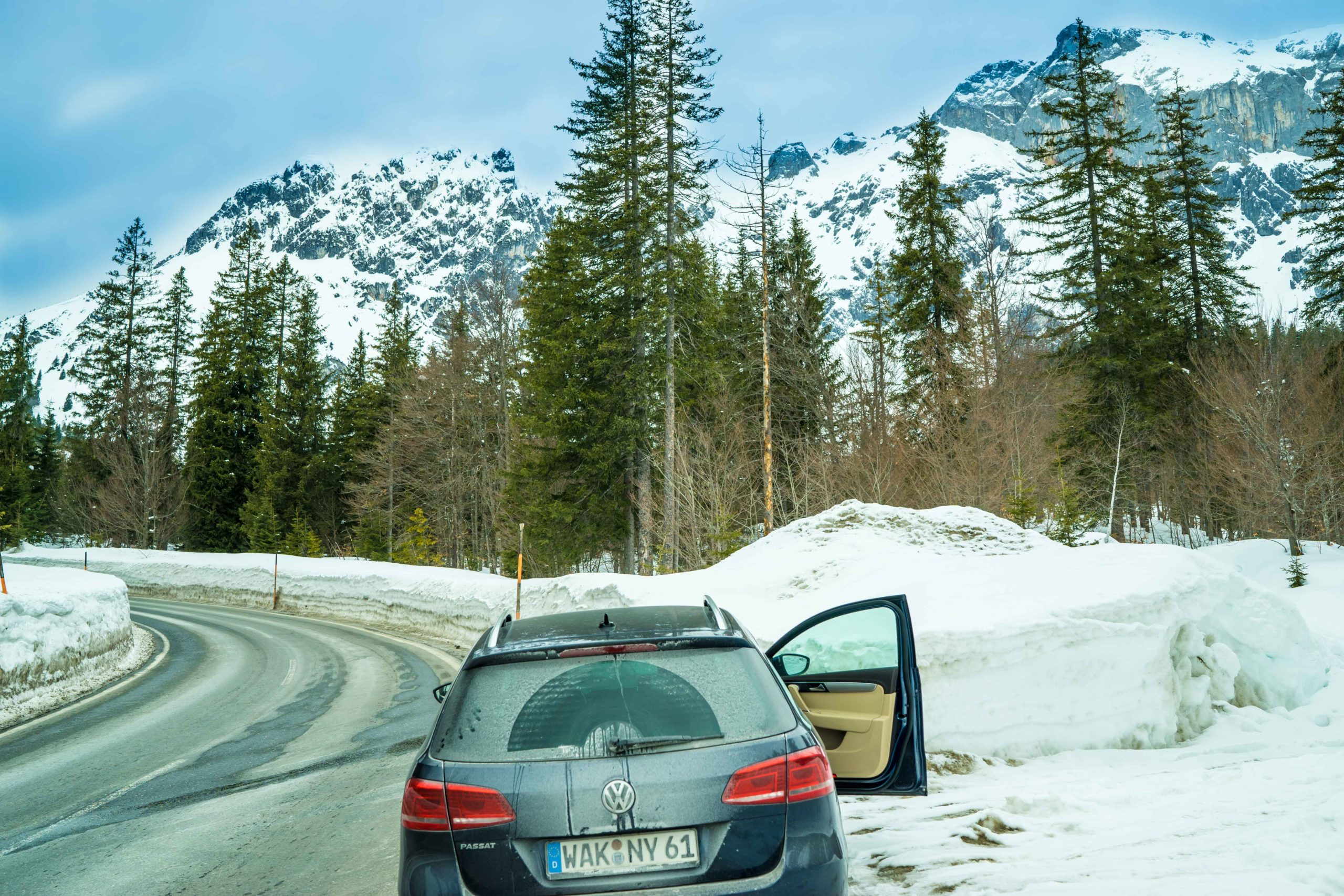 Alpen, Maria Alm, bei der Arbeit