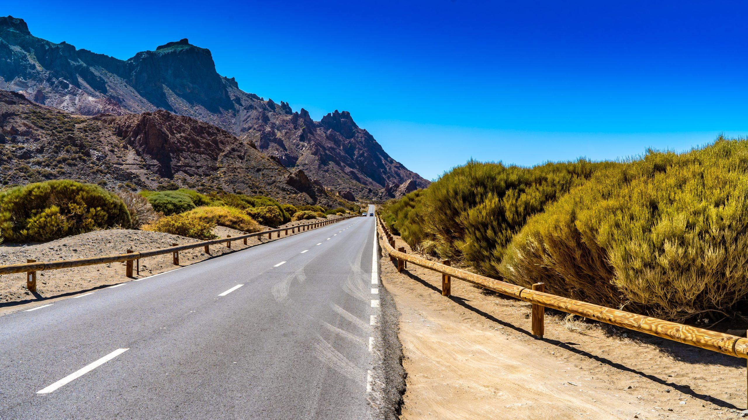 Atlantik, Teneriffa, auf dem Weg zum Pico del Teide