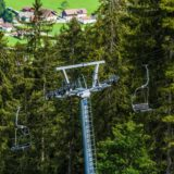 Tirol, Tannheimer Tal, Nesselwängle, Seilbahn