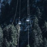 Allgäu, bei Füssen, Seilbahn zum Tegelberg