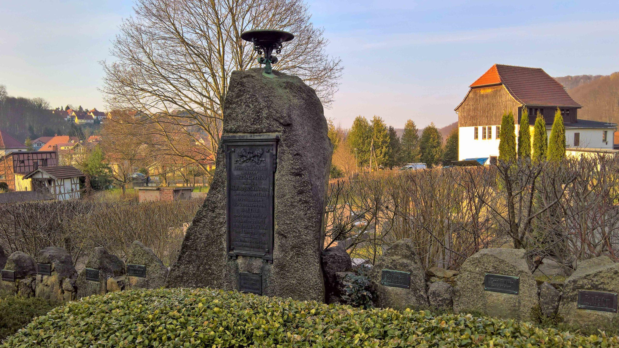 Gedenken der Märzgefallenen - Mecherstädt 2017 - Autor Wolle Ing - www.wolle-ing.de