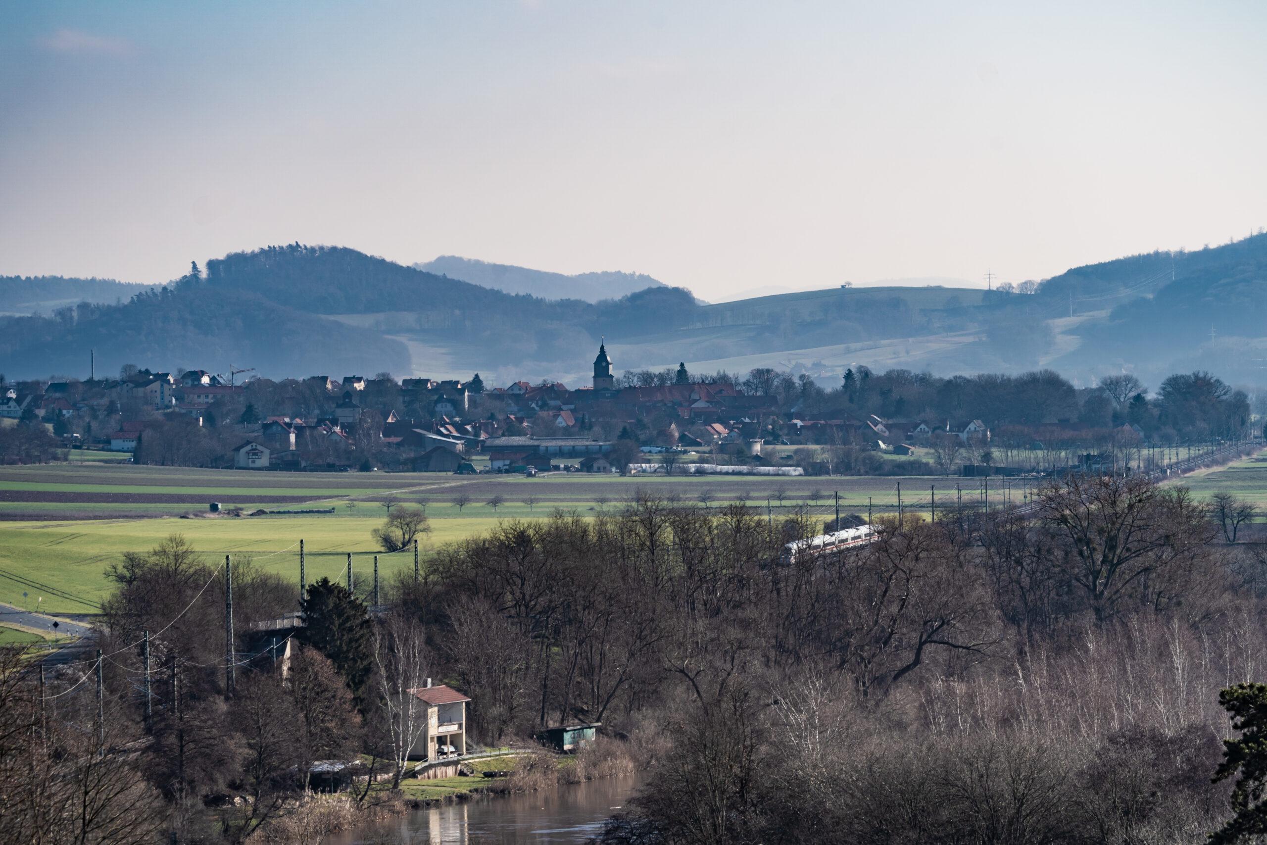 Gerstungener Forst, Blick Richtung Neustädt