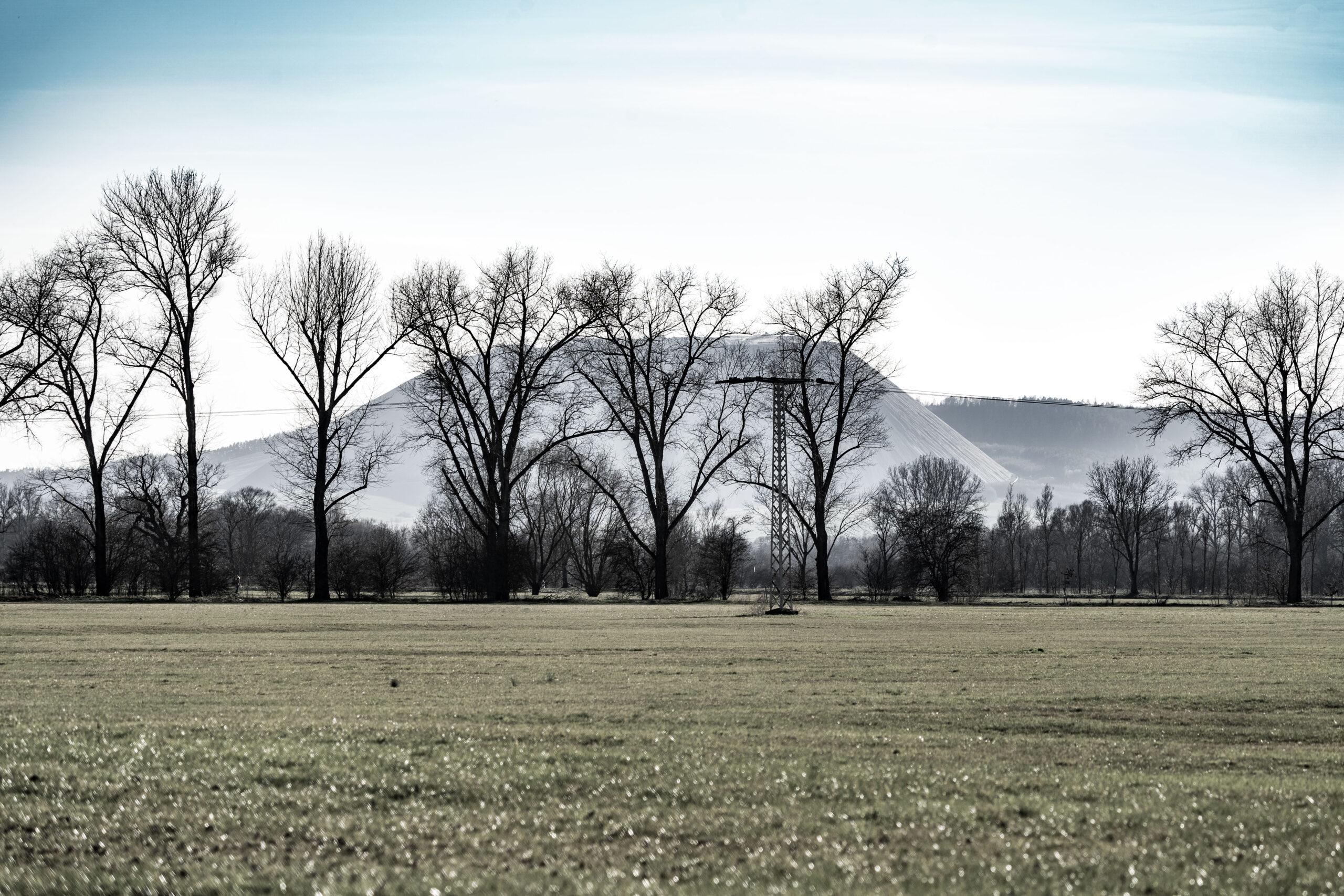 Thüringen, Gerstungen, Blick zum Monte Kali