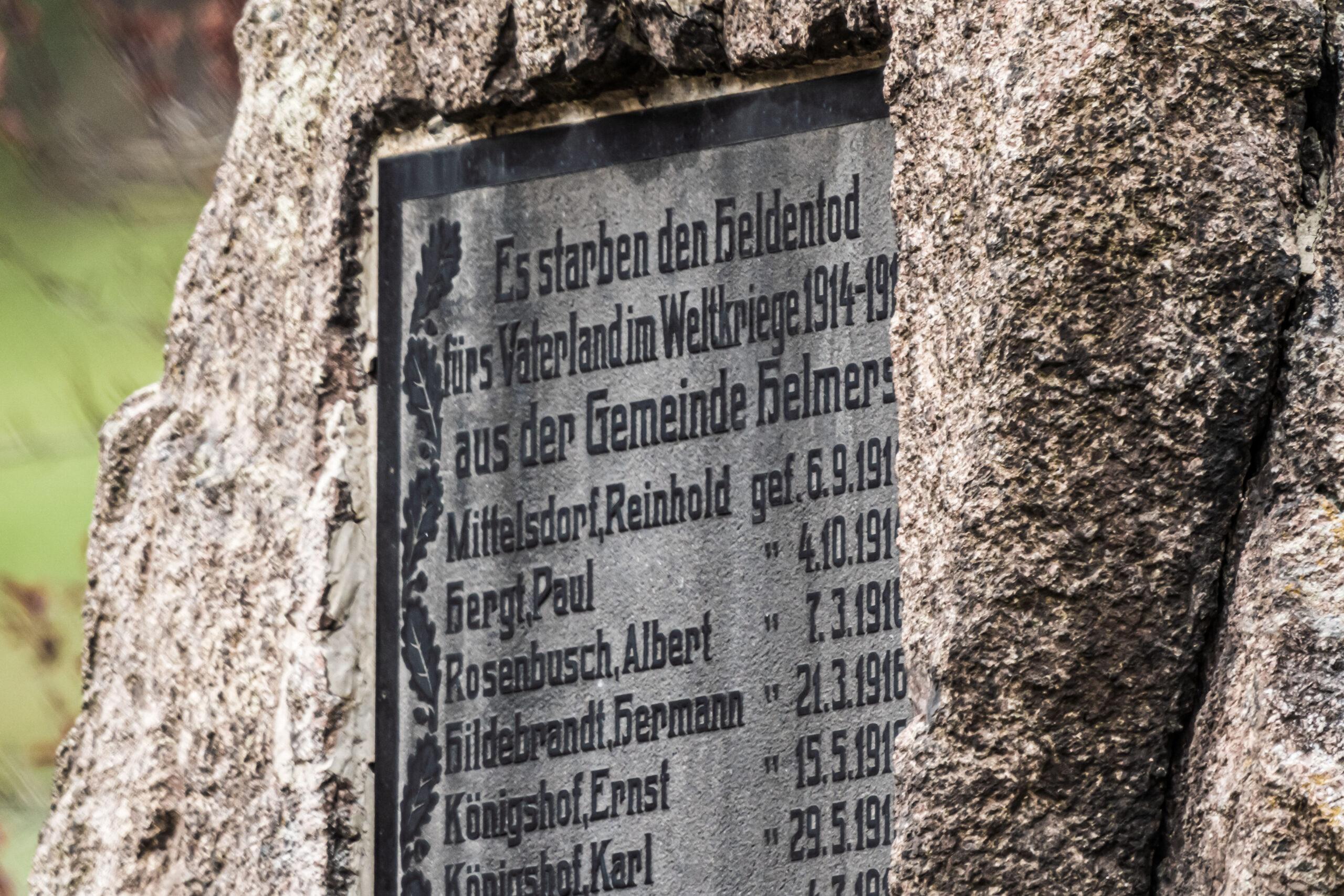 Mai 2021 Thüringen Helmers